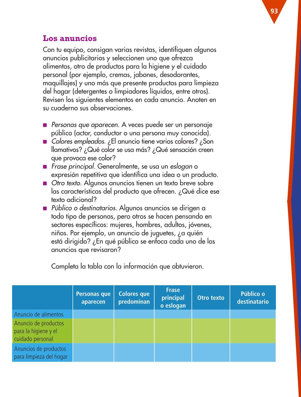 Historia cuarto grado 2015 2016 espaol lecturas cuarto for Espanol lecturas cuarto grado 1993