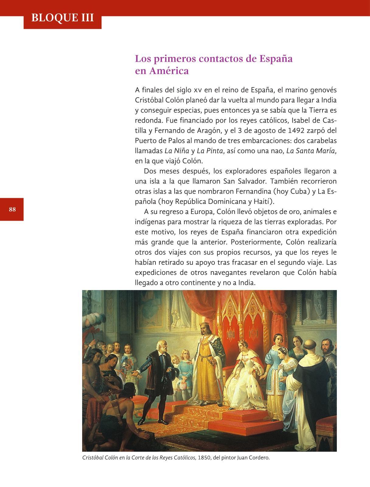 Libro De Historia 6 Grado Contestado | libro contestado