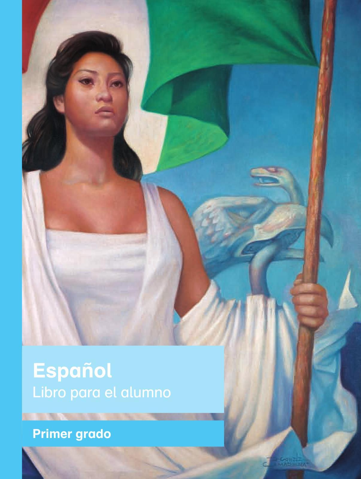 Español Libro para el alumnoprimeroPagina 1