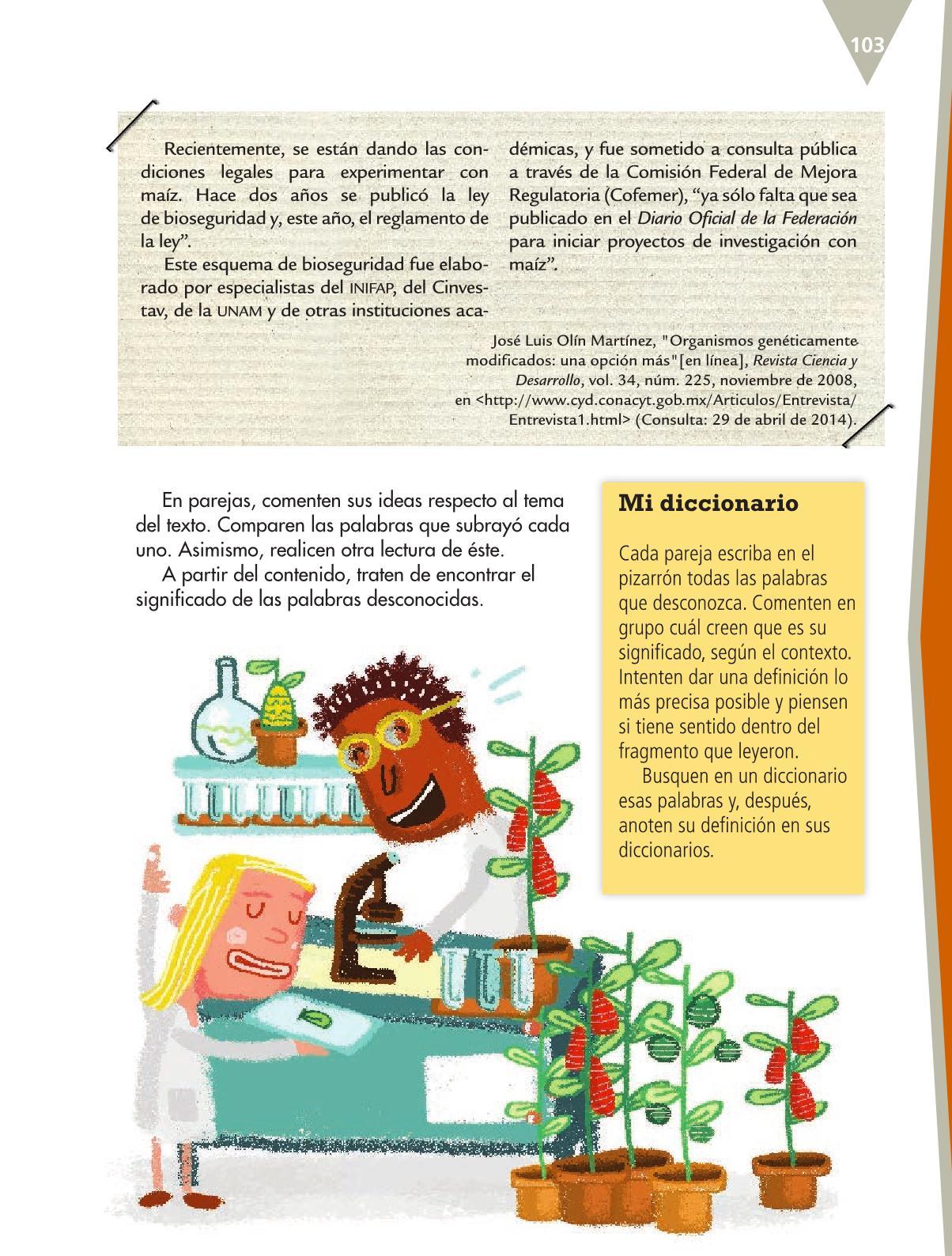 Español Quinto grado 2016-2017 – Libro de texto Online ...