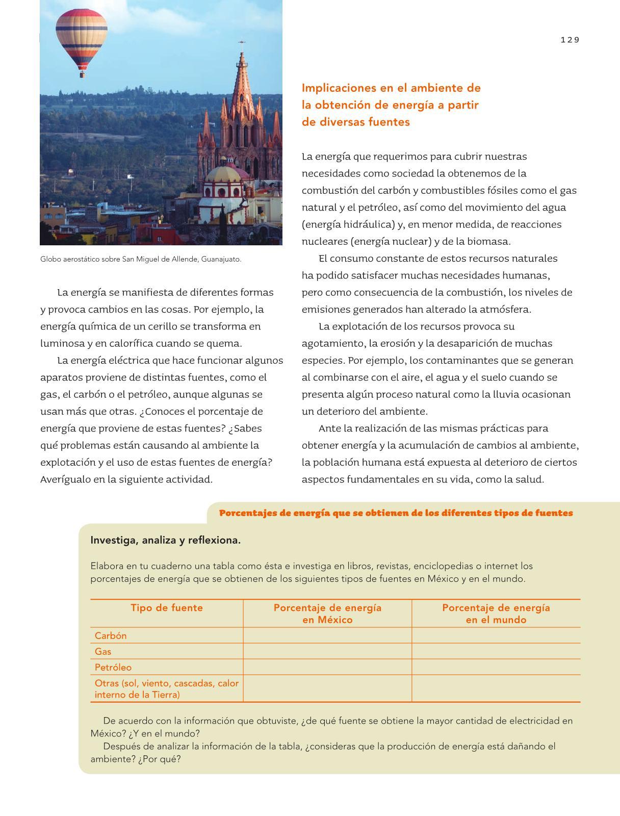 Ciencias Naturales Sexto grado 2016-2017 – Online | Libros