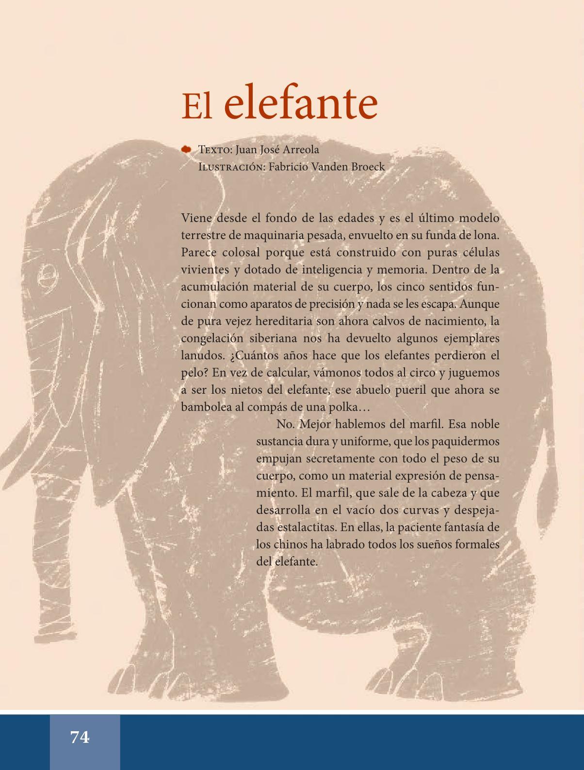 libro de español lecturas sexto grado pdf